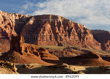 Vermillion Cliffs in northern Arizona