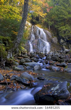 Vermond Waterfall - stock photo