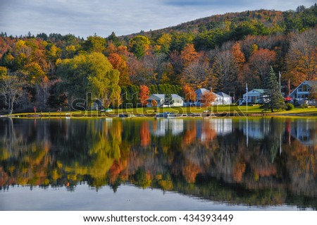 Vermont Foliage Reflection
