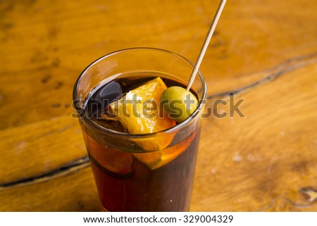 Vermouth - stock photo