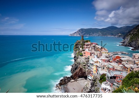 Vernazza is a small town in the province of La Spezia, Liguria, northern Italy