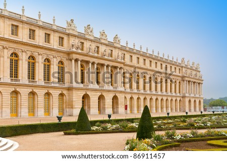 Versailles, France. Palace and park - stock photo