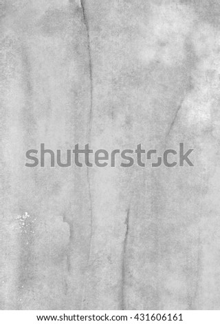 vertical light gray watercolor background - stock photo