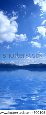 Vertical Panorama - stock photo