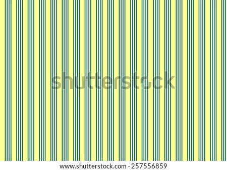 vertical parallel lines yellow green texture pattern background - stock photo