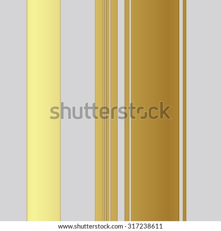Vertical stripe pattern on gray coloured background - stock photo