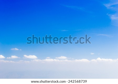 very beautiful  sky background .
