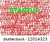 Very few of startup companies succeed - stock photo
