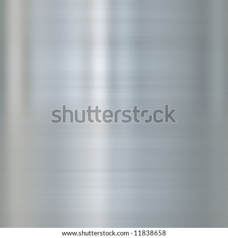 very finely brushed steel metal background texture