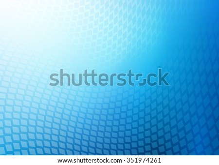 Very High Resolution Abstract soft blue geometric swirl medical or business background illustration with plenty of copy space.  - stock photo