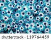 very nice blue flowers background - stock photo