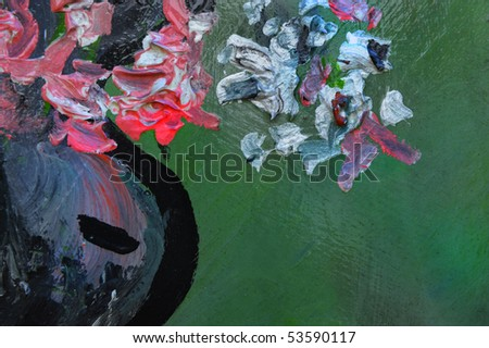 Very Nice Image Of a Still Life Abstract On Wood - stock photo