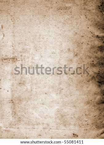 Very old grunge paper background