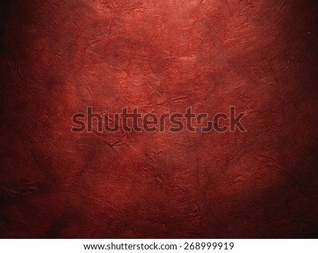 very old red paper - stock photo