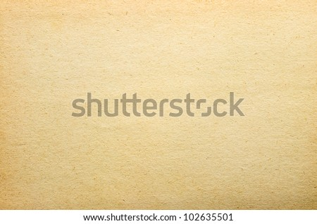 Very old yellow paper texture - stock photo