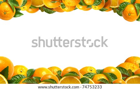 Very tasty sweet orange