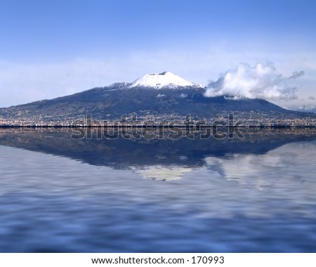 Vesuvius - stock photo