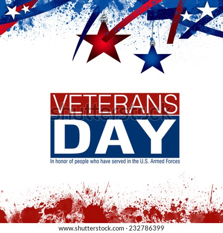 Veterans Day - stock photo