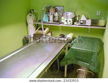 veterinary surgery - stock photo