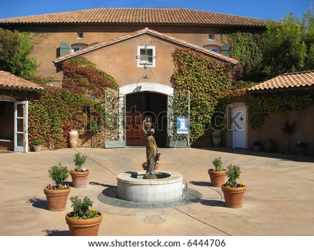 Viansa Winery, Sonoma, California - stock photo