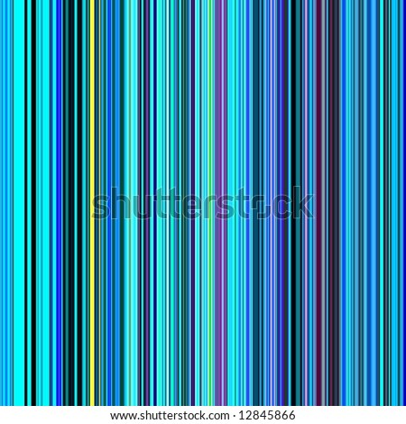 Vibrant blue color lines abstract background. - stock photo