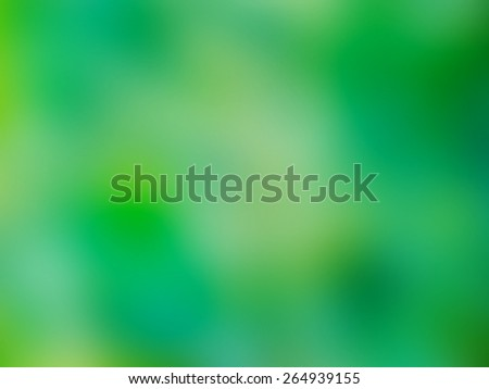 Vibrant Green Colors Abstract Blur Background for image editing, web and design - stock photo