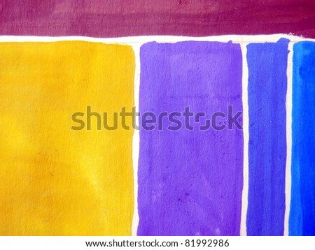 Vibrant Watercolor Background 5 - stock photo