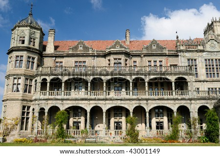 Viceregal Lodge on Obserwatory Hill in Shimla