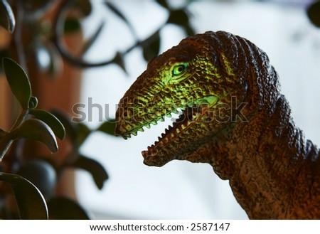 Vicious Dinosaur - stock photo