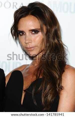 Victoria Beckham arriving for the 2013 Glamour Women of The Year Awards, Berkeley Square, London. 04/06/2013 - stock photo
