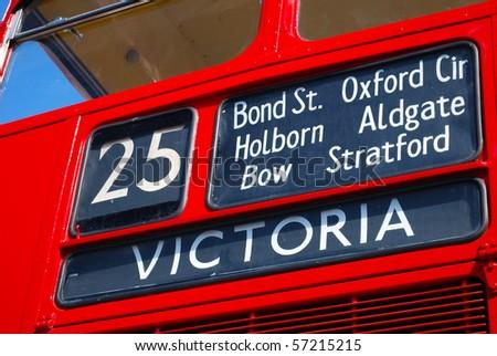 Victoria Bus - stock photo