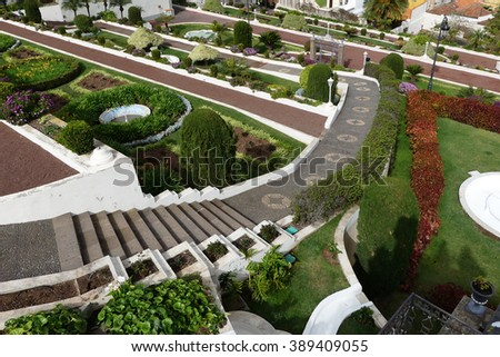 Victoria Gardens, La Orotava, Tenerife - stock photo