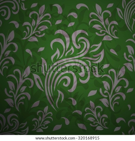 Victorian baroque ornament. seamless background