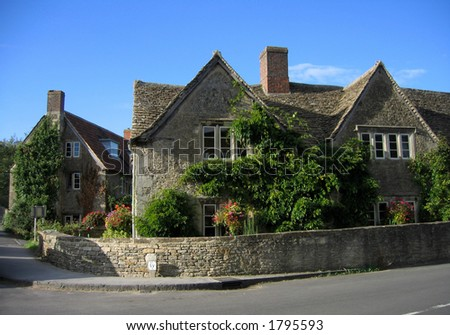 Victorian style residential home in Scotland - stock photo