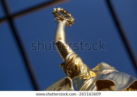 victory column berlin germany - stock photo