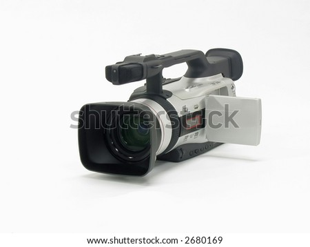 Video Camera - stock photo