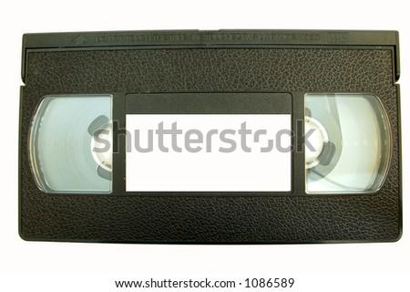 video tape #5 - stock photo