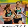 VIENNA, AUSTRIA - FEBRUARY 19: Indoor track and field championship. event on February 19, 2011 in Vienna, Austria. - stock photo
