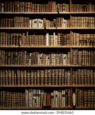 Old Bookcase Stock Images RoyaltyFree Images Vectors - Old book case