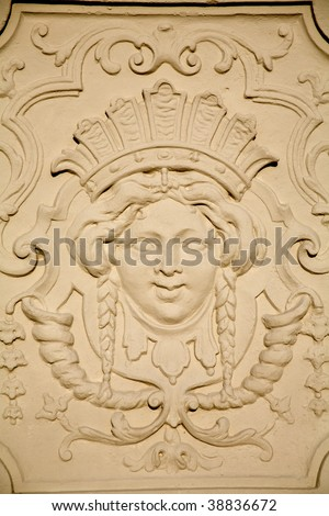 Vienna- relief from Belvedere palace