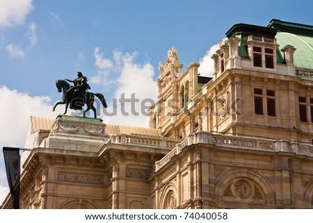 Vienna State Opera, Austria - stock photo