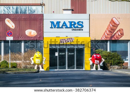 VIERSEN / GERMANY - FEBRUARY 27 2016 : The German headquarter in Viersen-Mackenstein coordinates the greatest recall campaign after a customer came across a piece of plactic in Snickers chocolate bar