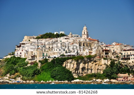 Vieste, Puglia, Italy - stock photo
