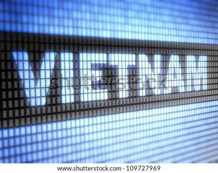 Vietnam.  Full collection of icons like that is in my portfolio