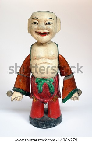 Vietnam theater  puppet collection - stock photo