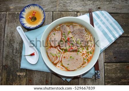 "Vietnamese food "" Bun bo hue"""