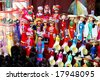 Vietnamese puppets and toys - stock photo