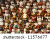 Vietnamese water puppets in Hanoi, Vietnam. - stock photo