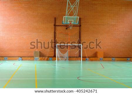 Oleg mikhaylov 39 s portfolio on shutterstock for Sport court basketball hoop
