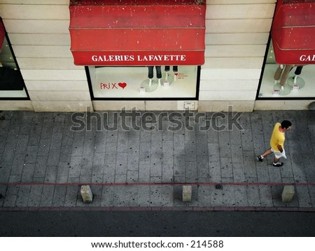 view from above - stock photo